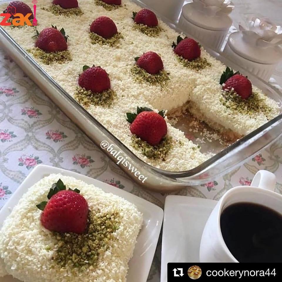 كيكة العروس التركية من روائع المطبخ التركي