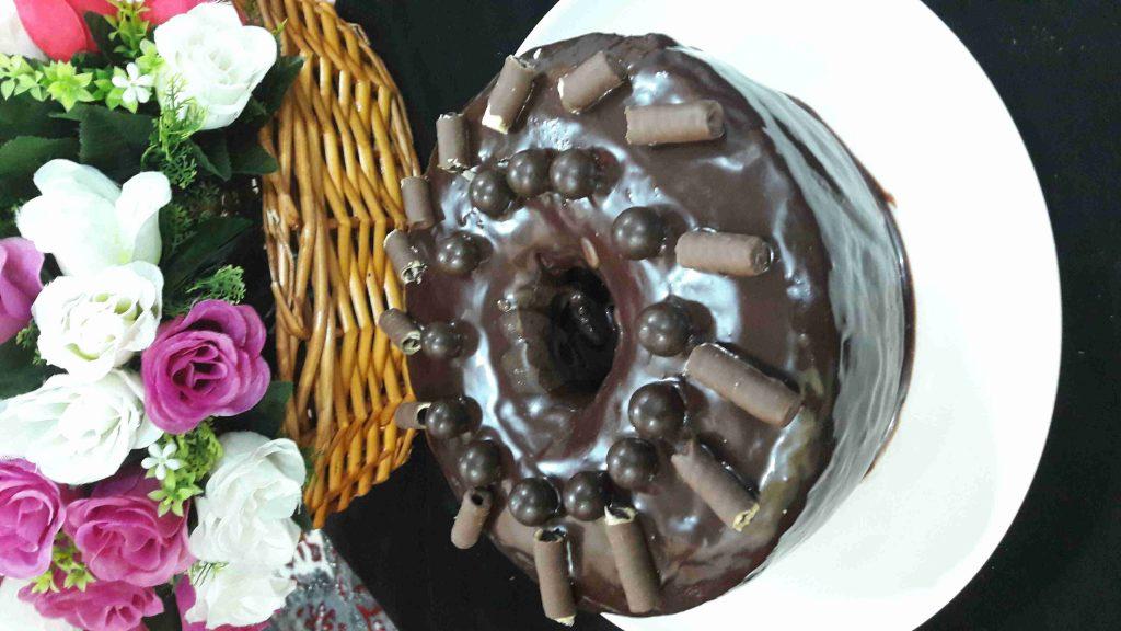 کیکة الشوکولا بصوص الشوکولا وریحة النسکافیة هشه و تجنن