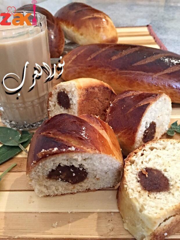 خبزة حلوة بالتمر