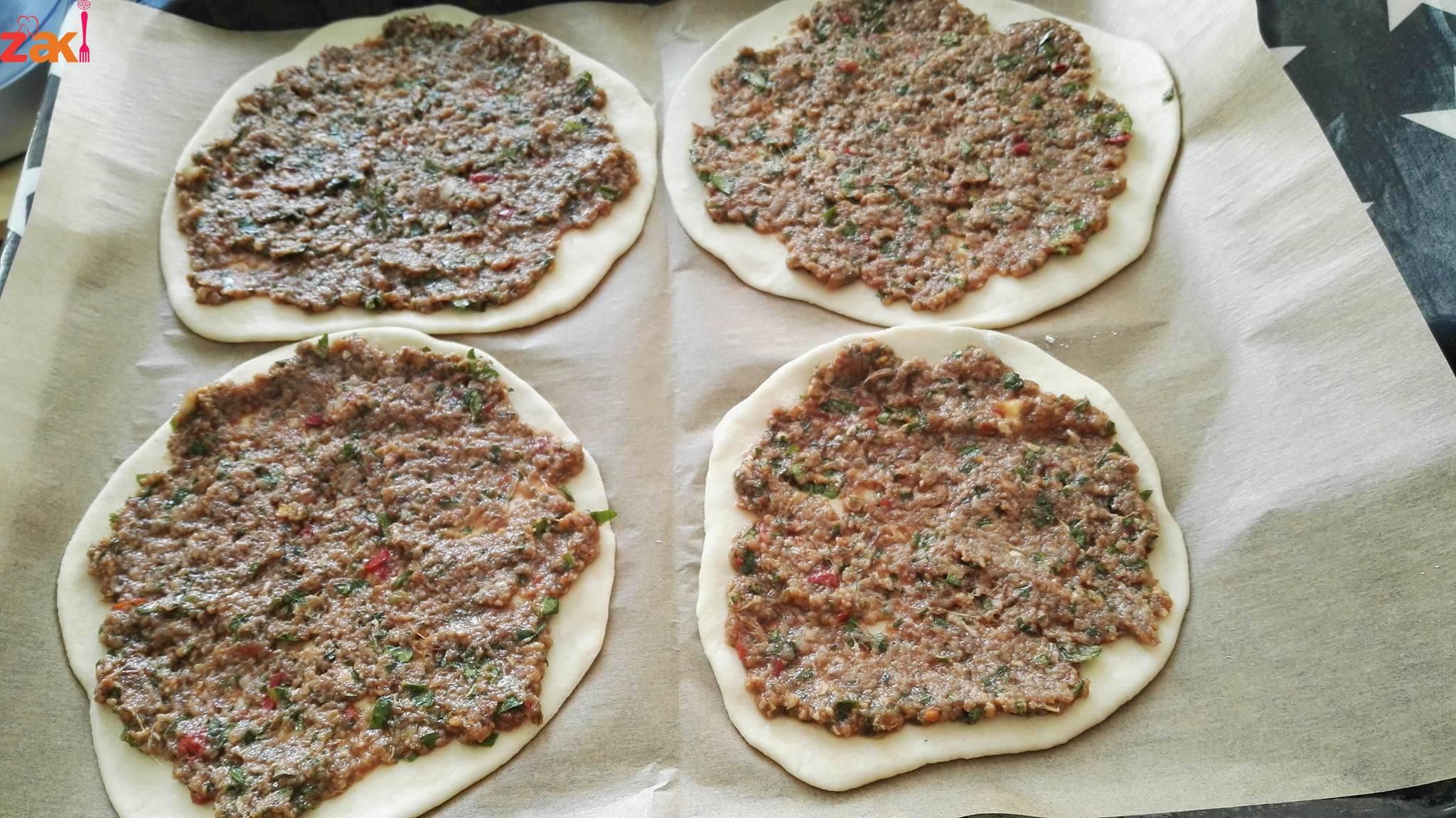طريقة عمل الصفيحة السورية على اصولها جدا شهية و الطعم لا يقاوم
