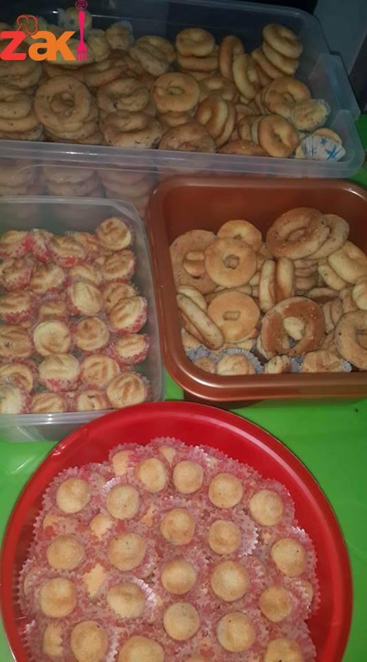 طريقة أساور الكعك الفلسطيني وطريقة المعمول تحفة