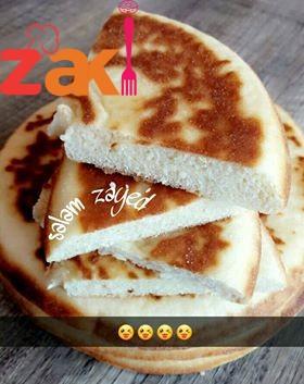 خبز المقلاة الهش بجنن و لزيز