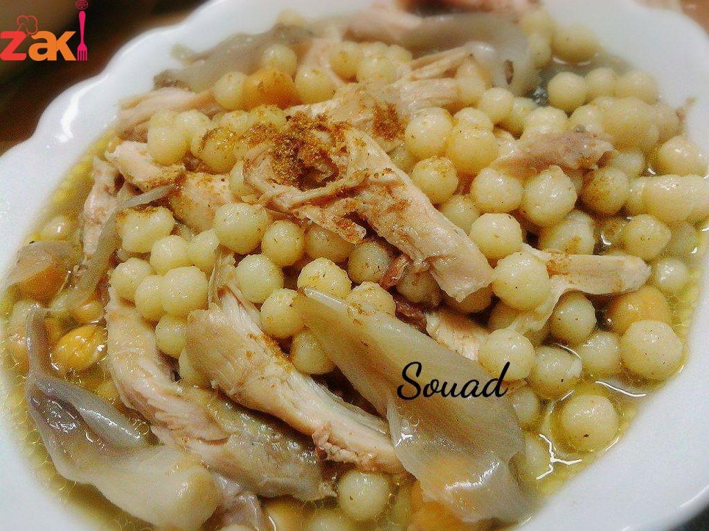 طبق المغربية بالدجاج على الطريقة اللبنانية