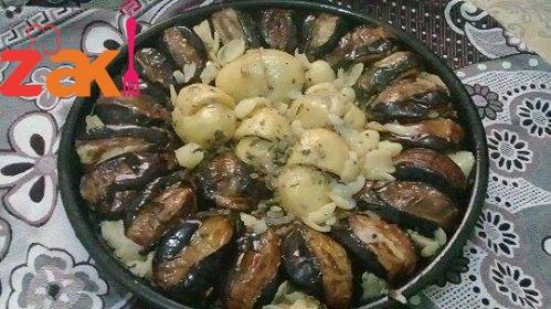 اطيب و الز صينية لحمة بالخضار يميييي