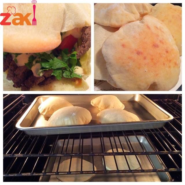 طريقة عمل الخبز البيتي في الفرن رووووعة