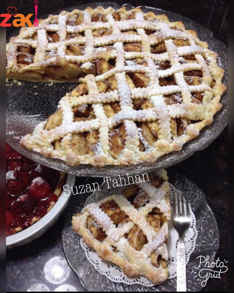 فطيرة التفاح لززززيزة Apple pie