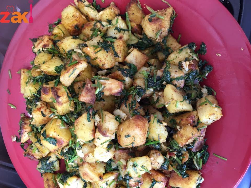 البطاطا الحرة طبق جانبي قومي بتحضريه بأقل من 5 دقائق