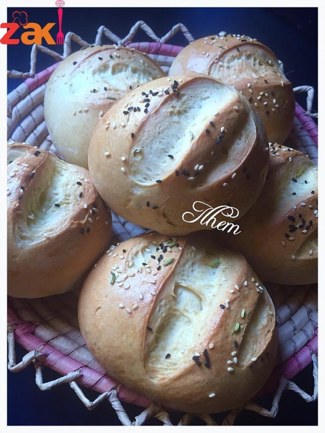 زاكي يعمي وكثير وبيشهي خبزات السيدة الهام
