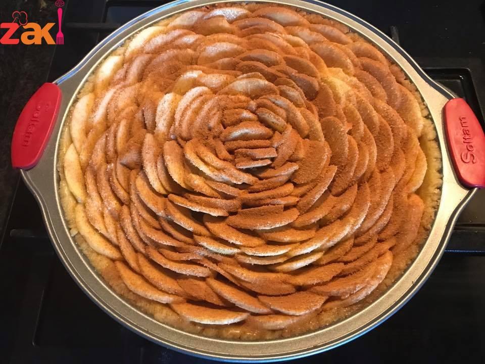 أجمل وصفات صحية فطيرة بالتفاح بعجينة البستيري