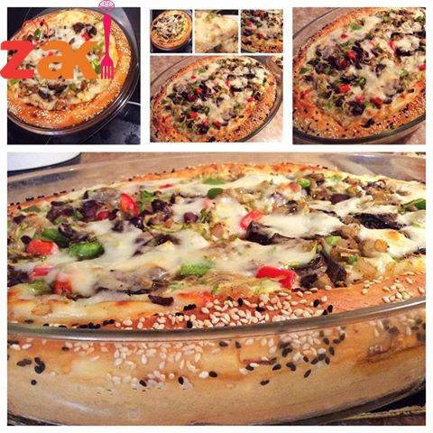 أطيب بيتزا بالطريقة الأردنية شي يفوق الخيال