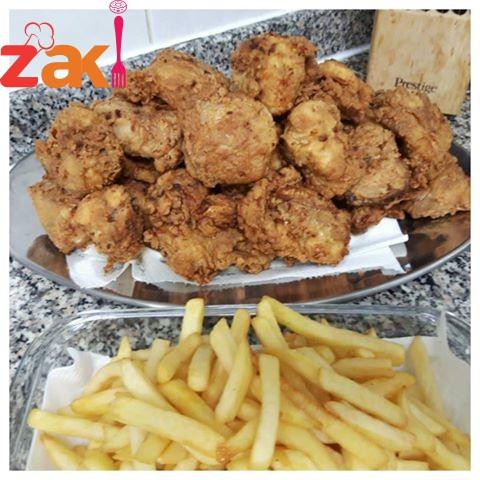 دجاج مقلي مع أفضل المكونات جريبها ومش هتندمي