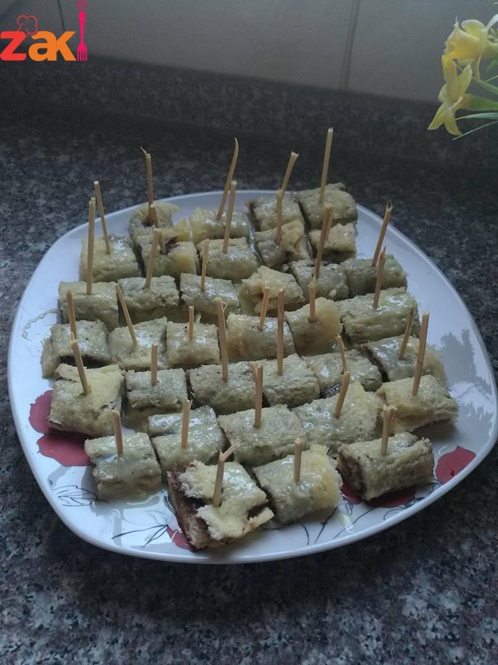 سينابون التوست بالخبز سهله وسريعه وزاااااكيه