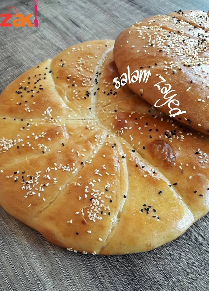 #خبز_قطني_هش