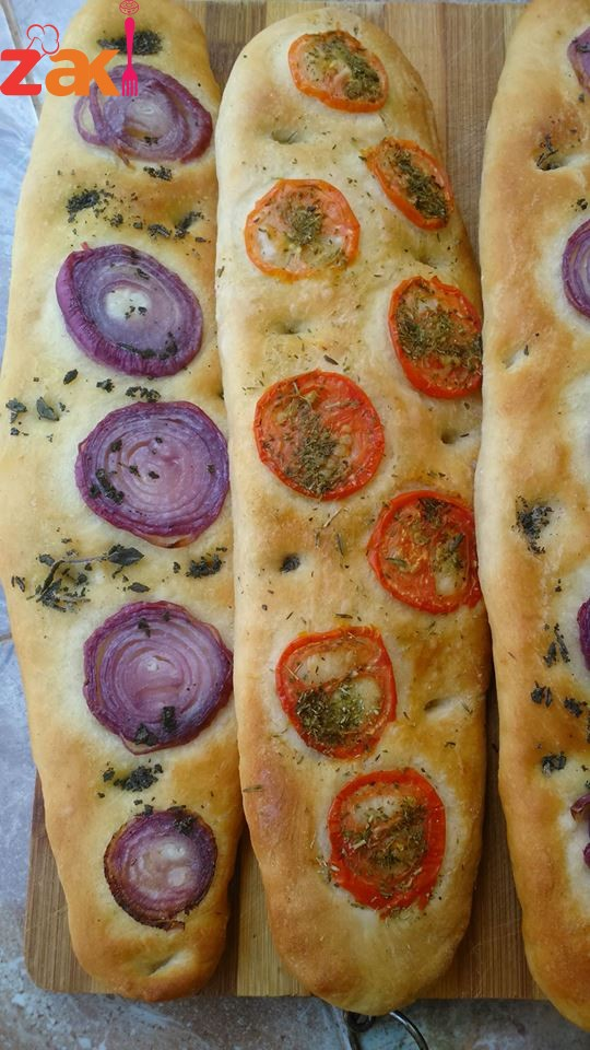 خبز الفوكاشيا الإيطالي