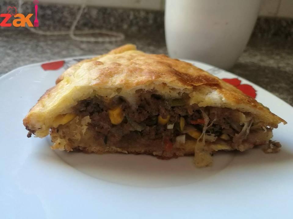 الفطيرة التركية ياااااااااناس هذه الأكلة فخمة لازم تجربوها
