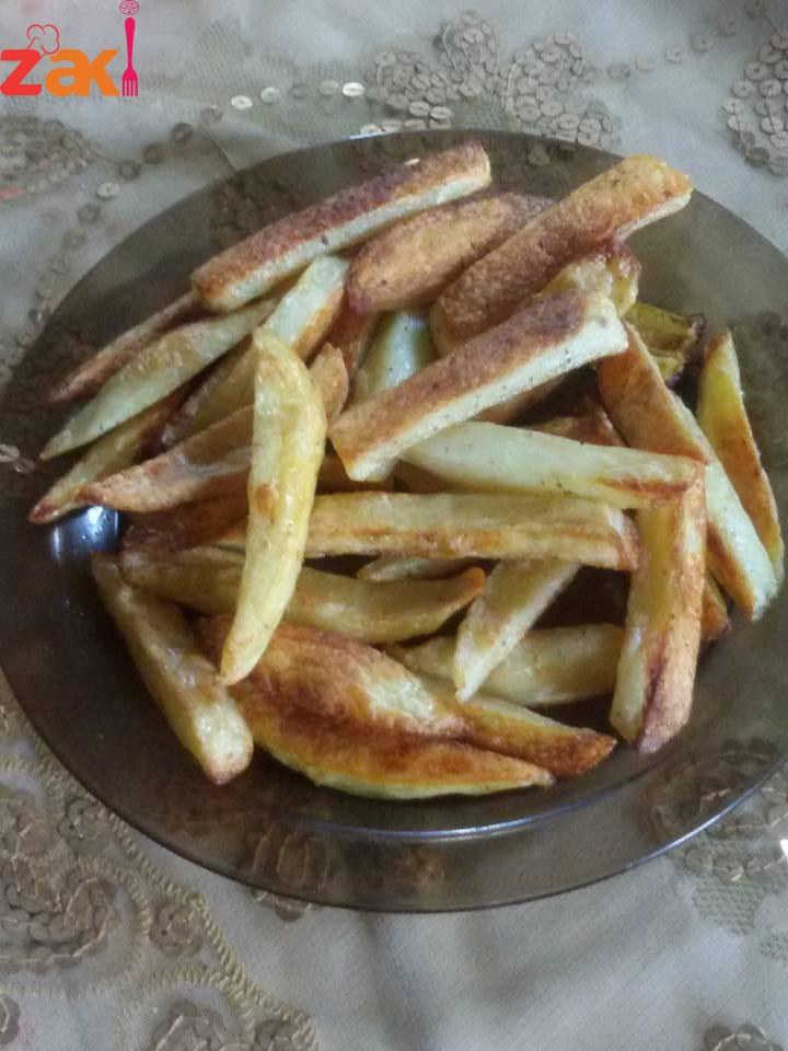 ايه رأيكم في البطاطس مقلية كويس أحب قلكم ما فيها ولا نقطة زيت اعرف السر فوراً