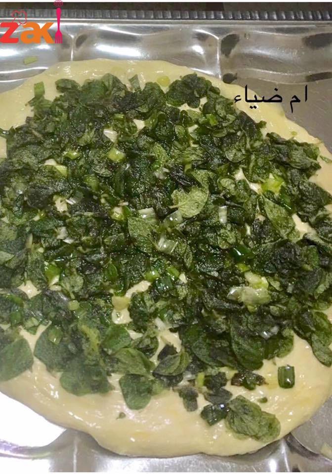 أقراص الزعتر الأخضر على الطريقة الفلسطينية الأصلية اللي بدها الطريقة تكتب تم