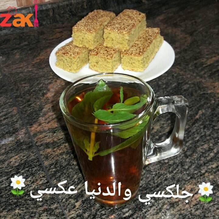 الشتويه وآكلاتها صنية اليانسويه متل كعك الشاي والقرشله طعم وريحه جنان(1)