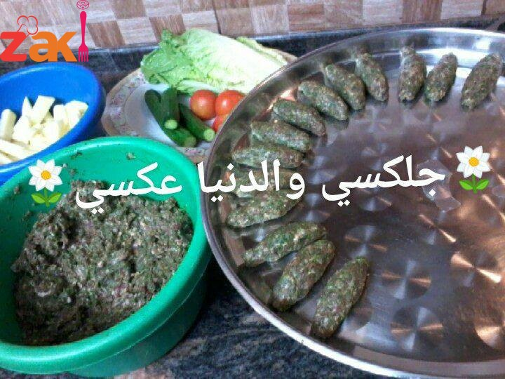 الكفته بطحنيه من آطيب الآكلات صيفيه وشتويه ومع خبز عربي بتطلع آكله ملوكيه