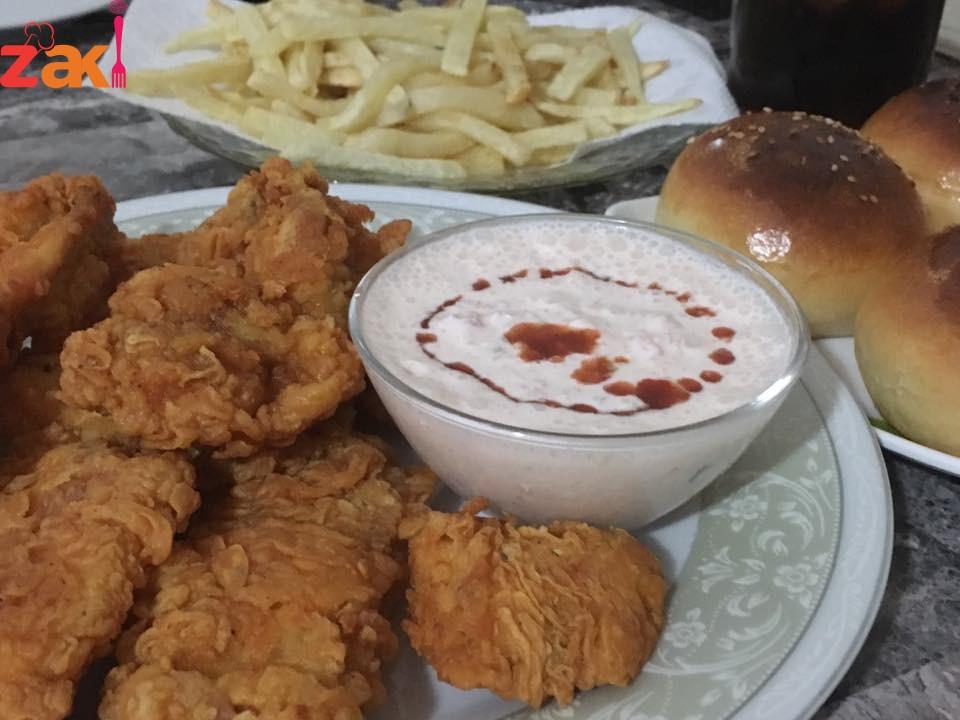 طريقة عمل دجاج كنتاكي