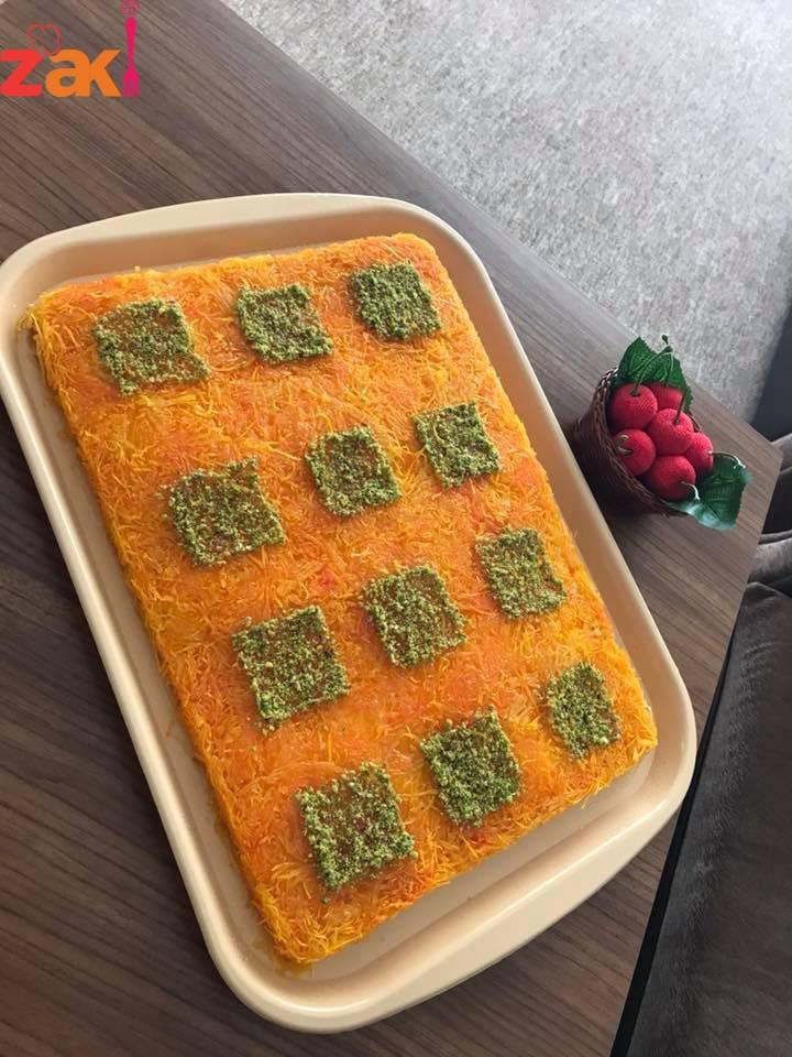 اسهل طريقة تحضير كنافة نابلسية بالجبنة السائحة