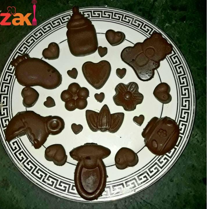 طريقة صنع الشوكولاتة في المنزل