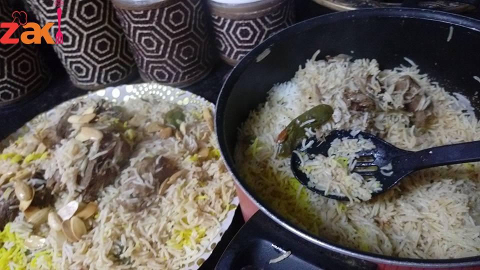 أسهل طريقة أرز البرياني