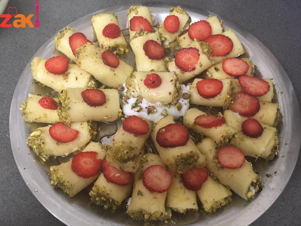 عمل حلاوة الجبن السورية