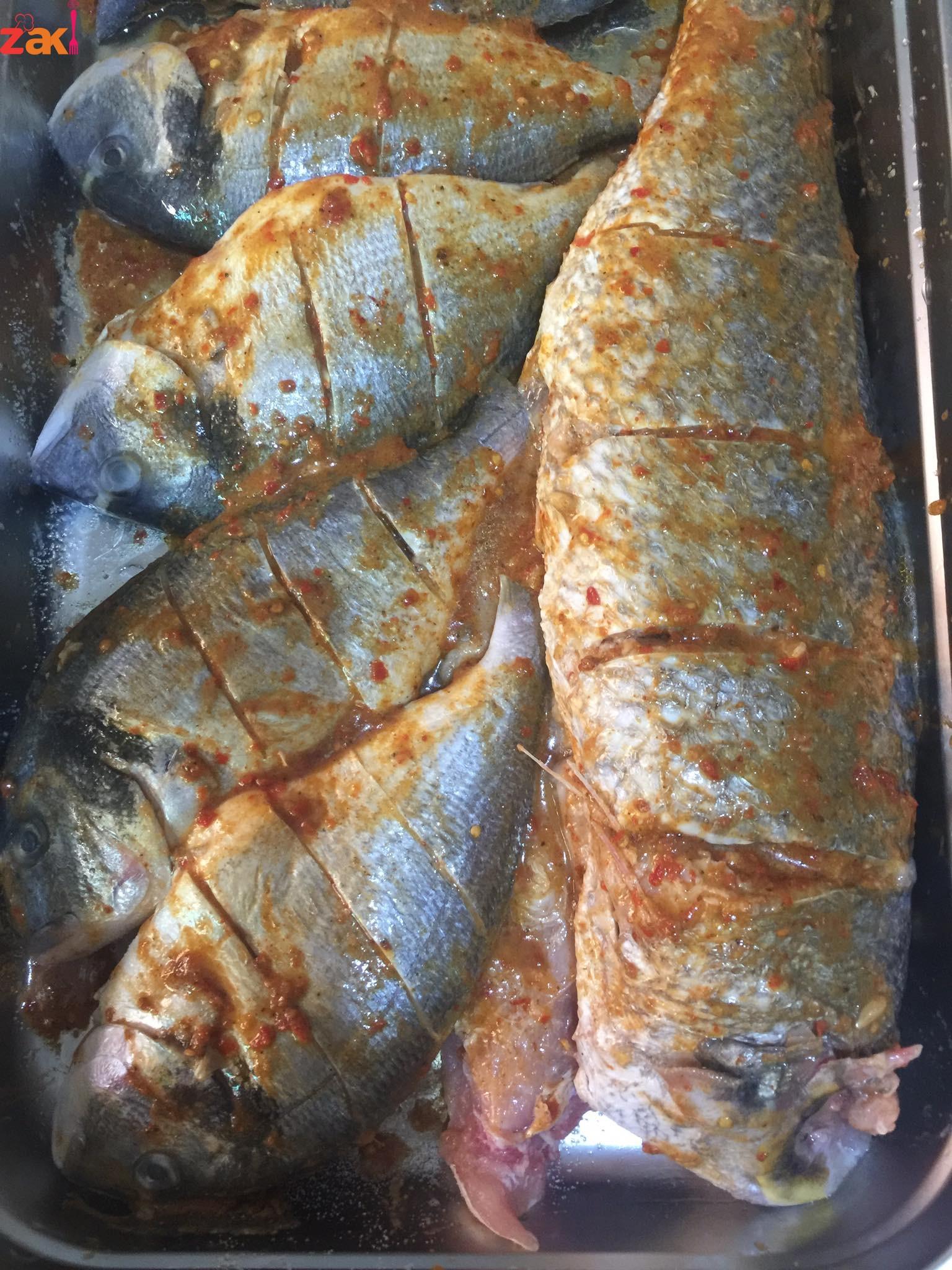 طريقة عمل سمك أدنيس