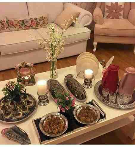 طريقه تزيين طاولة للسهرة والعشاء و القهوة