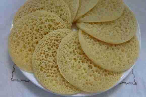 بغرير سريع (غرايف) وصفة تقليدية جزائرية