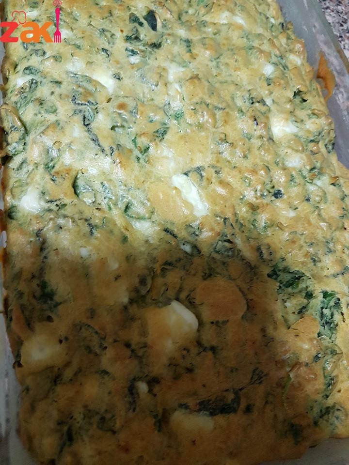 طريقة عمل كيكة الزعتر والجبنة