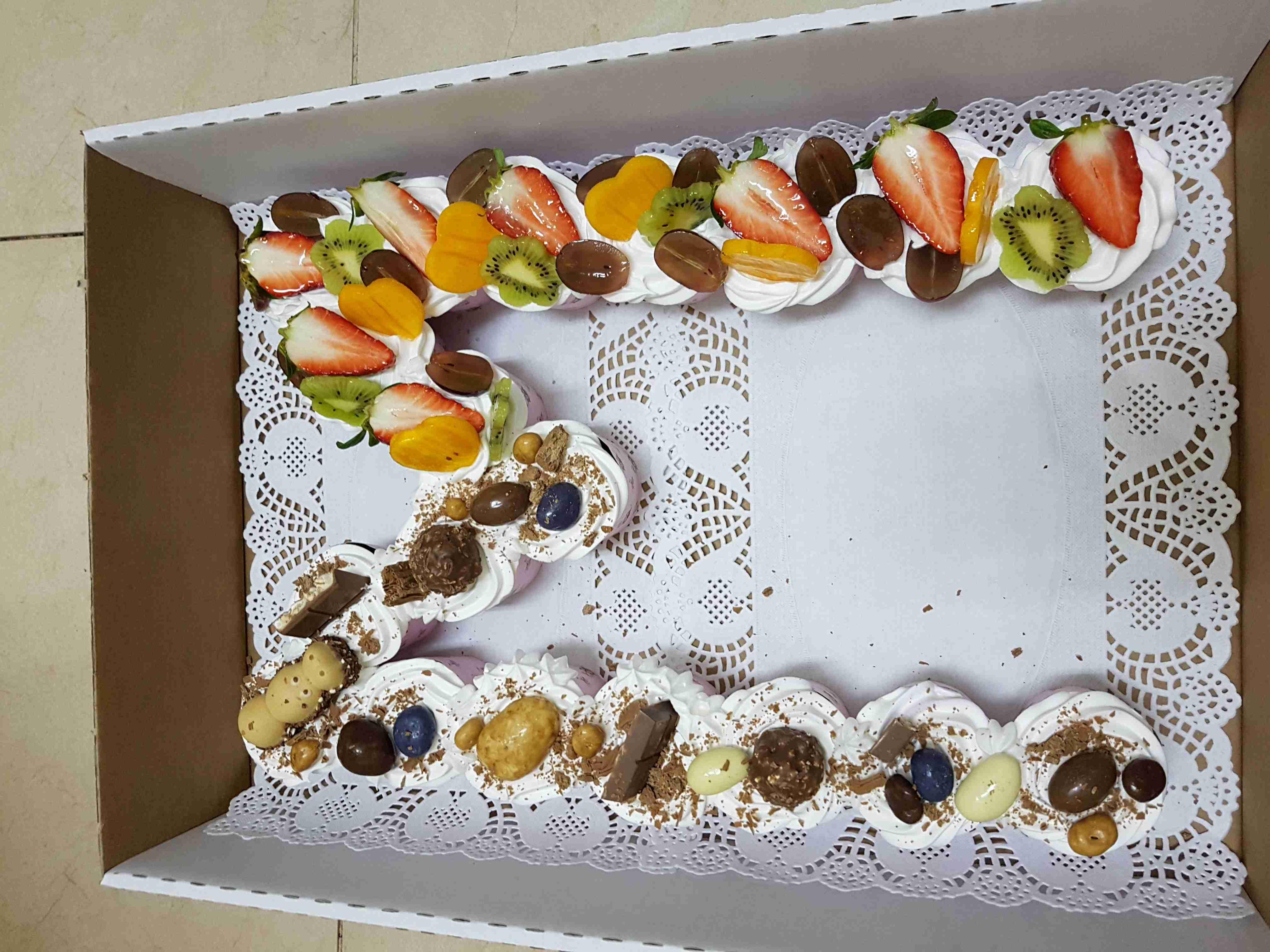 مسابقه ملكه الحلويات كعكه الحرف