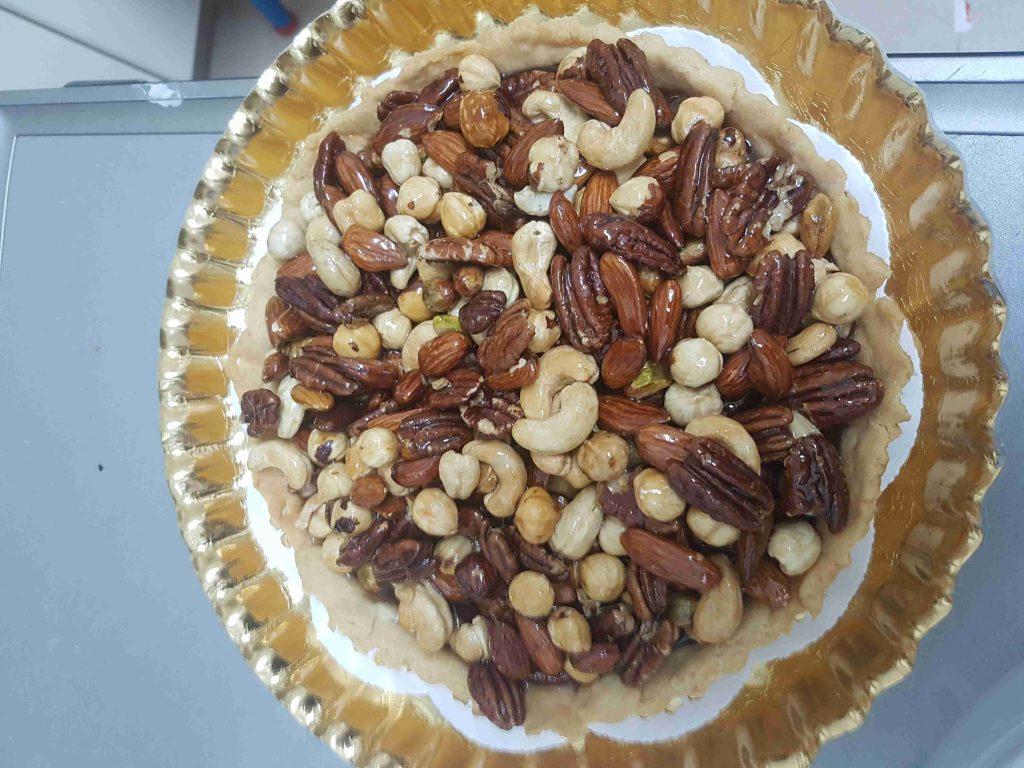 مسابقه ملكه الحلويات تارت مكسرات