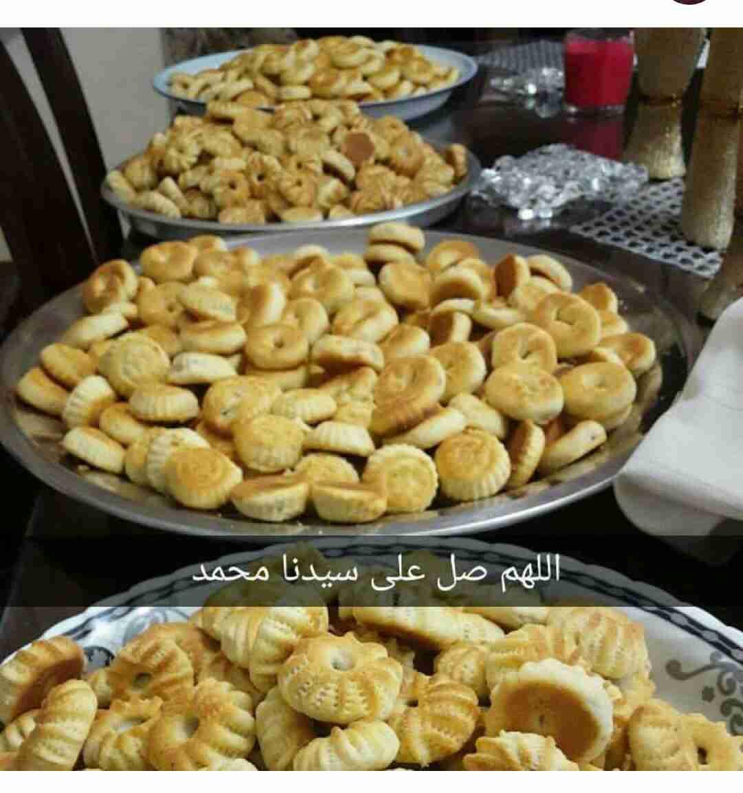مسابقه ملكة وصفات ماما كعكات العيد بالسميد من ماما