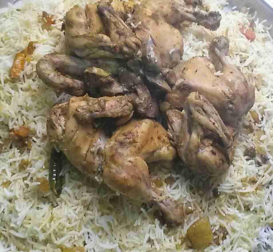 رز مع دجاج سهل وبسيط ولذيذ