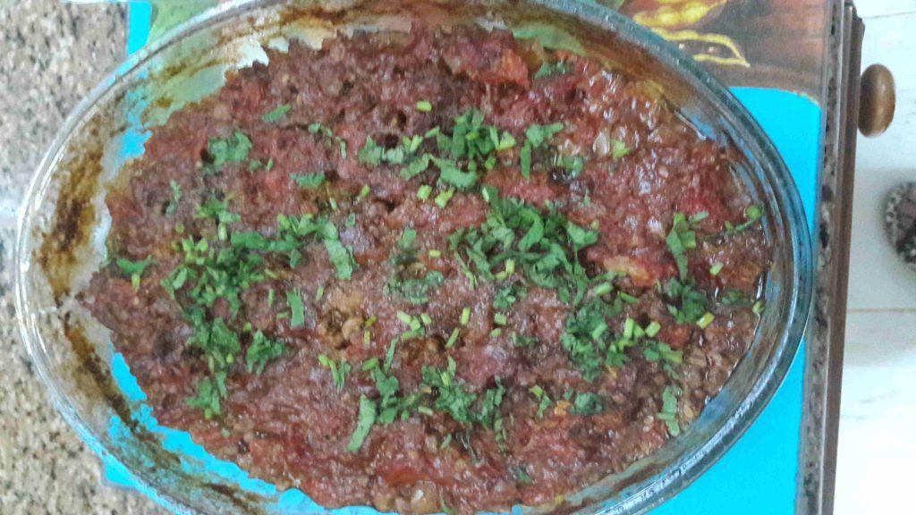 منزلة البتينجان ملكة الأطباق الجانبية في رمضان