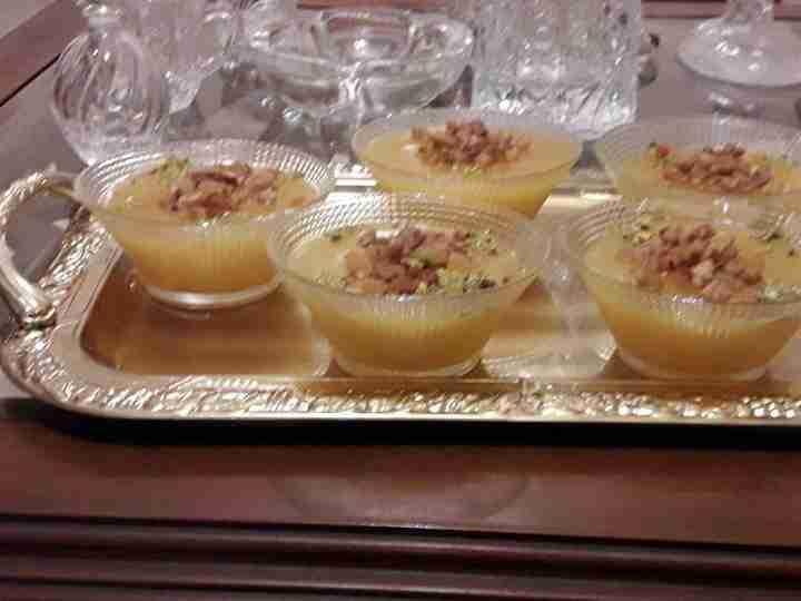 مهلبية قمر الدين حلوى رمضانيه