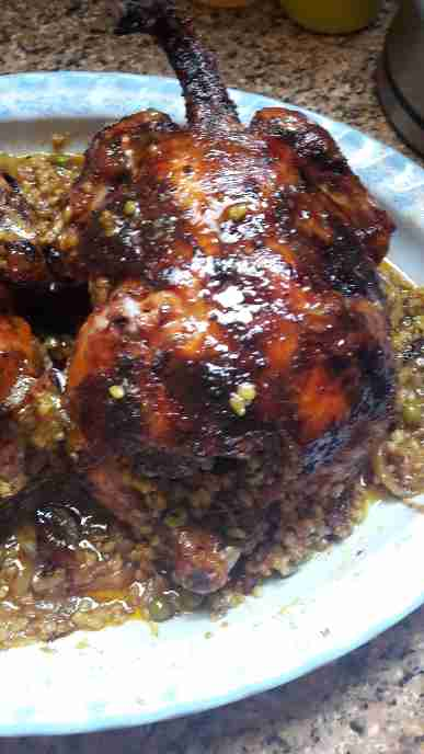 دجاج محشي ملكة أطباق فطور رمضان
