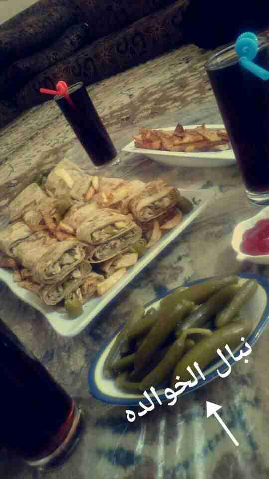شاورما من تحت ايدين اختي 👌 مسابقة فطور رمضان