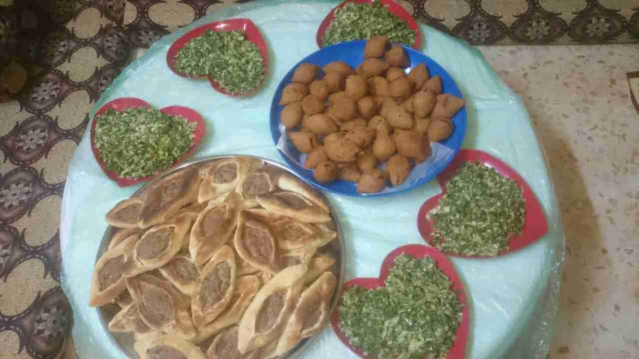 ملكة اطباق فطور رمضان سفيحة بالحمة