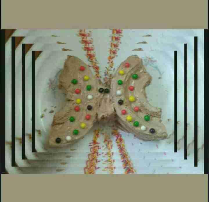 كيكات للاطفال باشكال مختلفة فراشة اسد ارنب سمكة