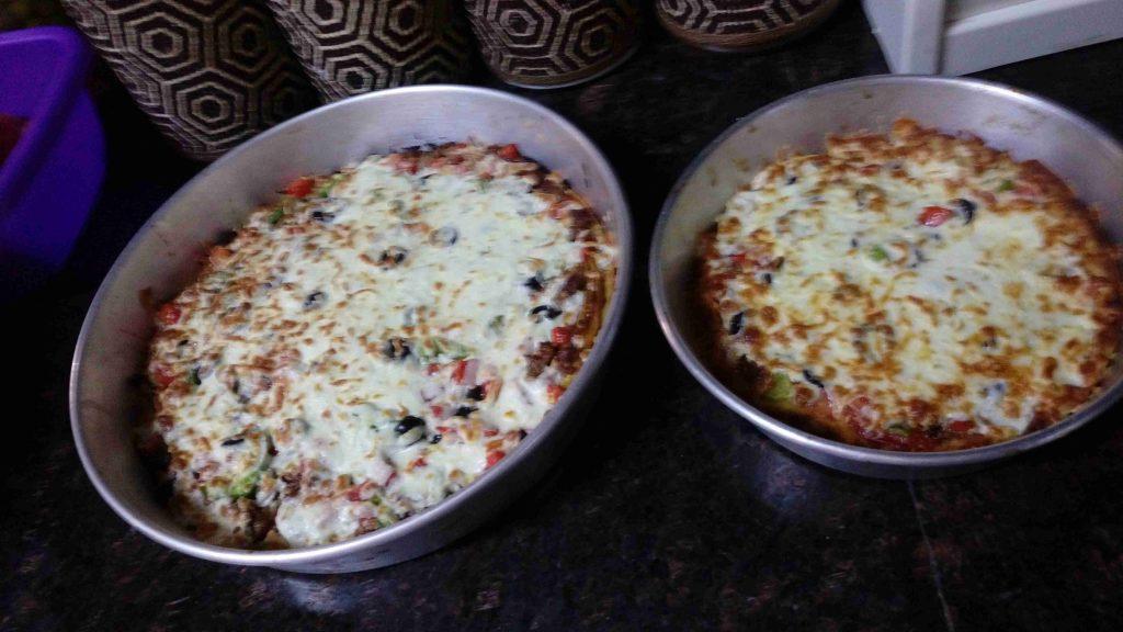 بيتزا بالباذنجان
