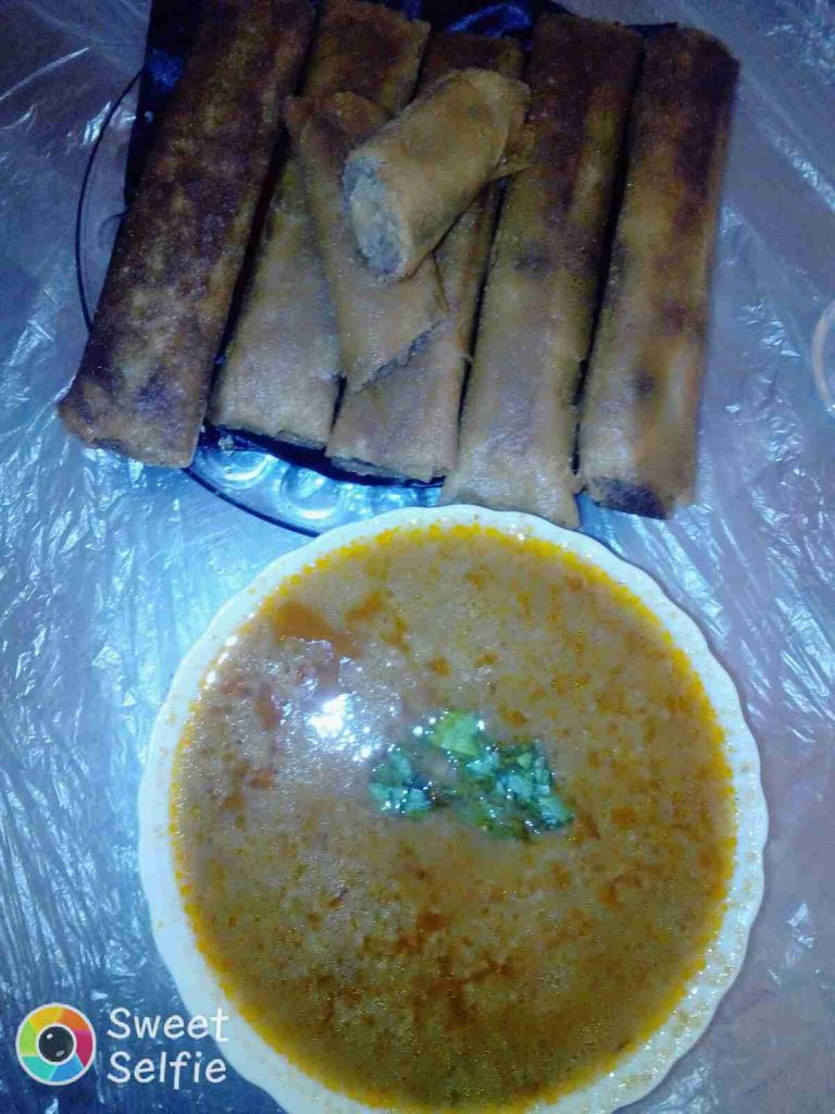 شربة بالفريك و وصفة البوراك ملكة اطباق رمضان