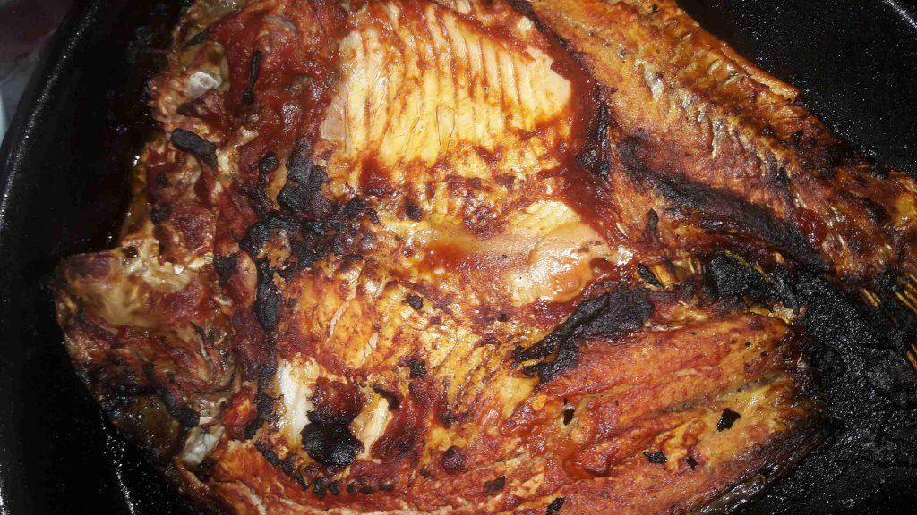 السمك المشوي العراقي الذيذ تحضيرات رمضان
