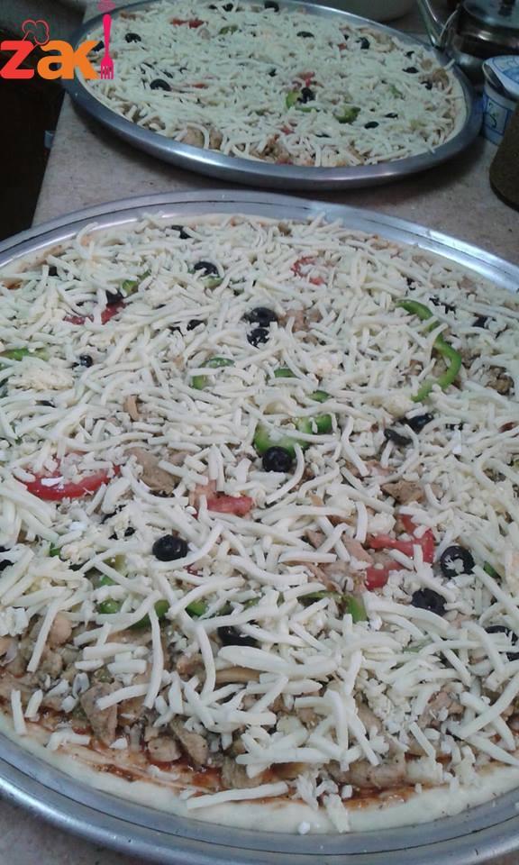 طريقة بيتزا الخضار