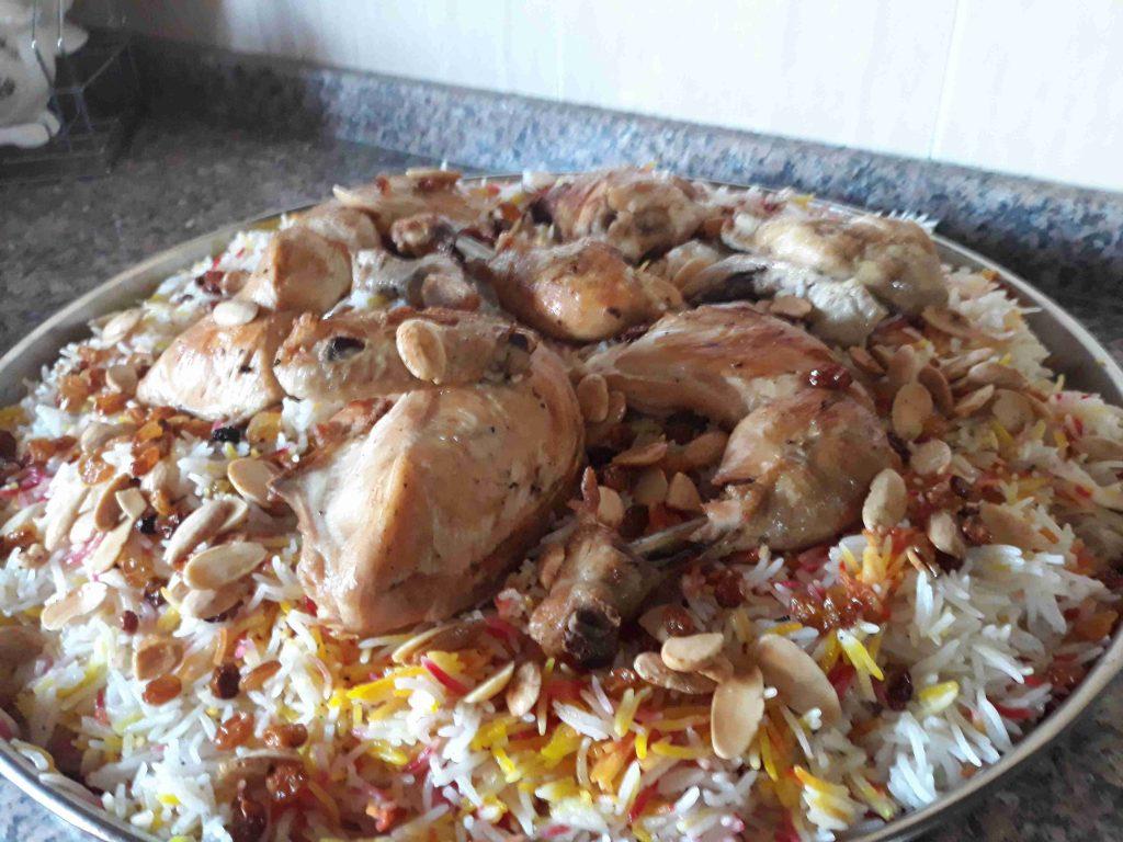 طريقة عمل المندي(ملكة الأرز )