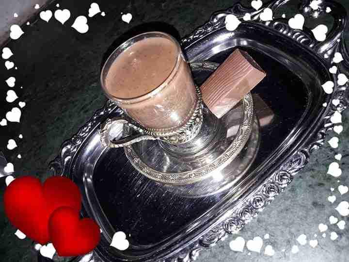 معكم صديقة زاكي الشيف المتميزة نسرين بارافي مشروب الكاكاو الساخن