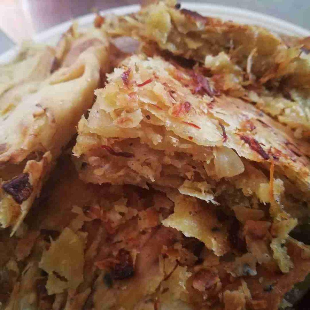 مطبق البصل والجاج