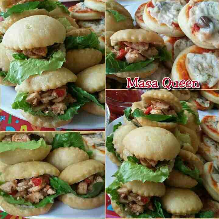ميني ساندويش دجاج مكسيكي😍 وصفة بتجنن لأي مناسبة وطعم سوبر يمييي👍